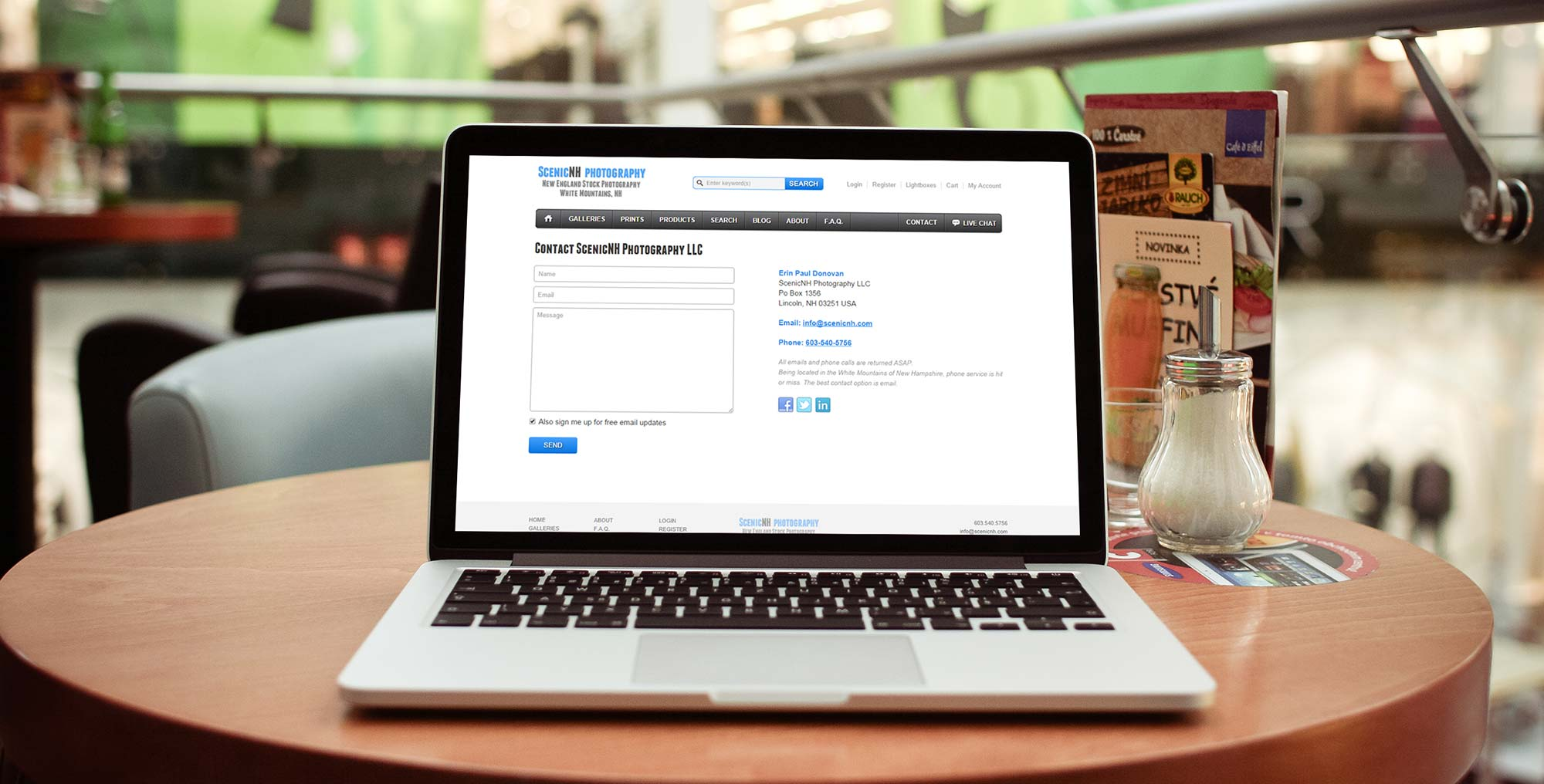 Case Study: Contact page overhaul example - Featured Image