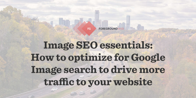 Image SEO essentials: How to optimize for Google Image search to drive more traffic to your photography website