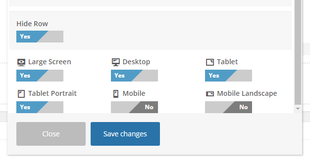 WPBakery Page Builder (Visual Composer) hide row controls