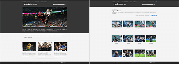 Onside Images - Matching PhotoShelter template