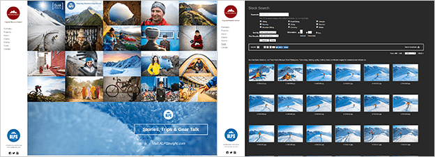 PhotoShelter with WordPress integration (Patitucci Photo)