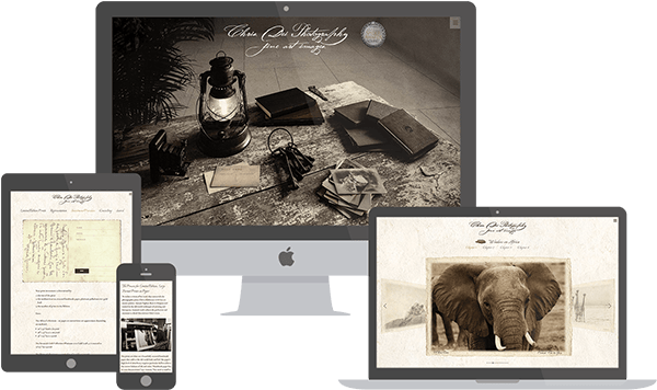 Chris Dei Photography website preview