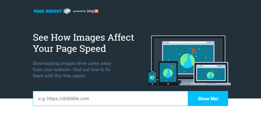 Image size guidelines for website speed: dimensions