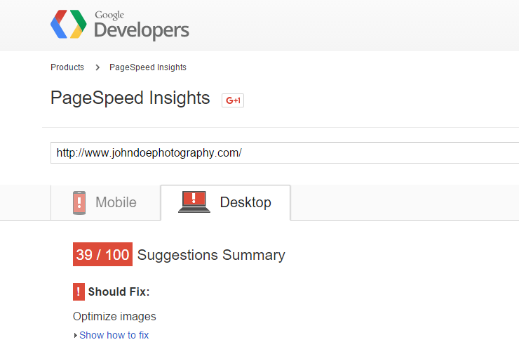 PageSpeed-Insights-poor-performance-example