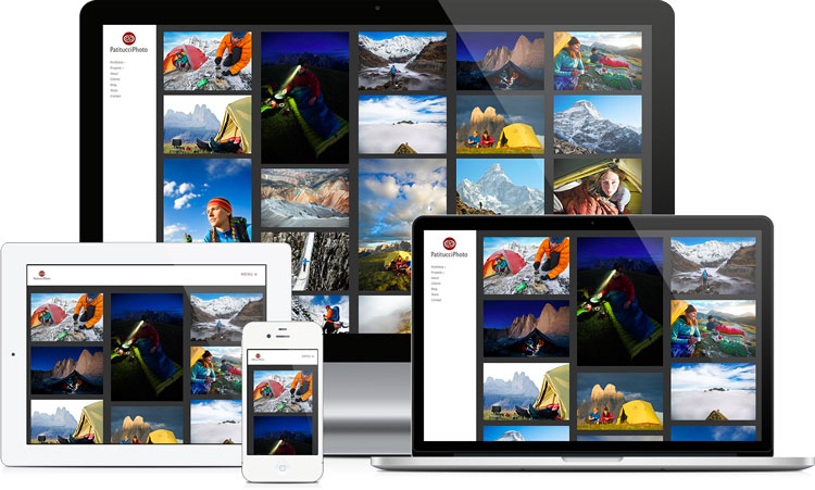 example-responsive-photography-website