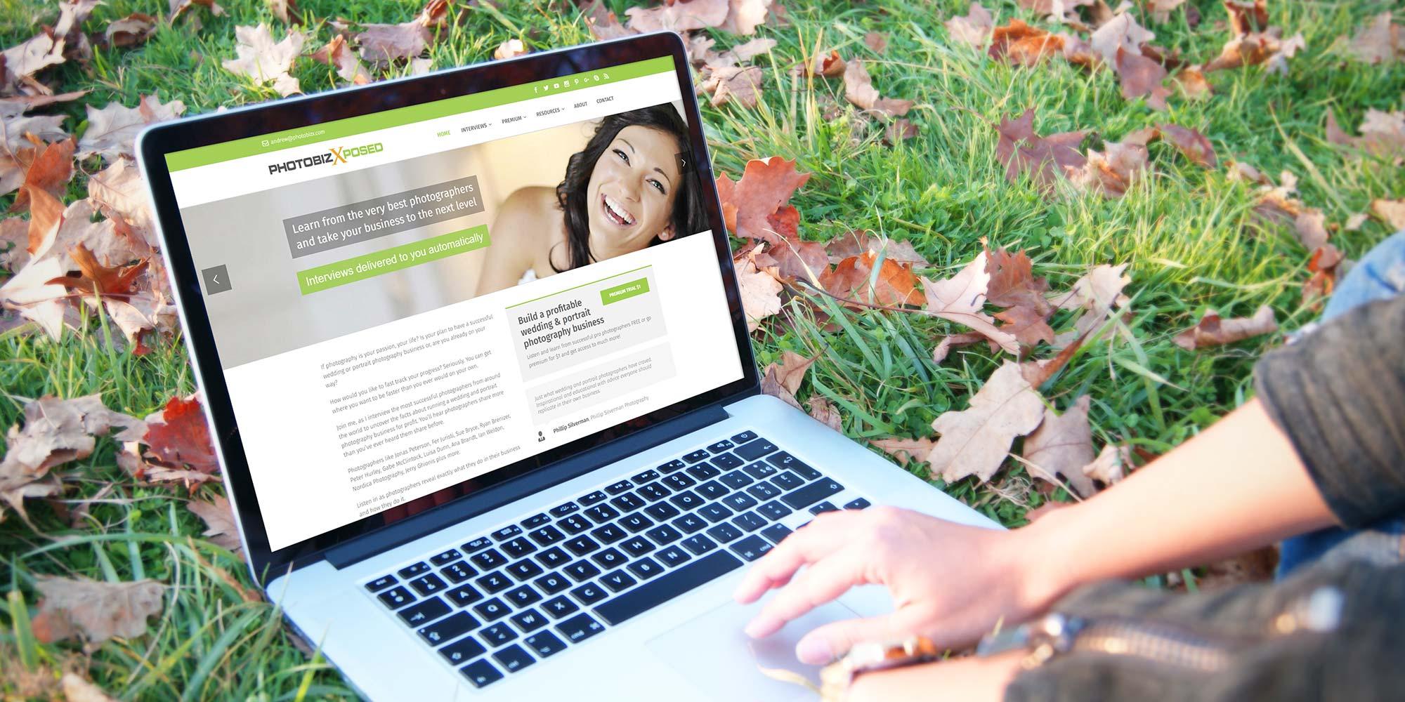 Case study: PhotoBizX website design makeover - Featured Image