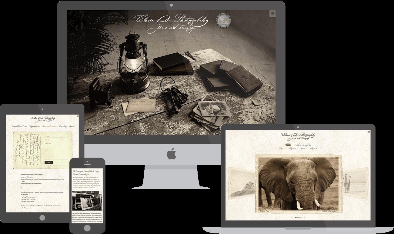 Chris Dei website preview