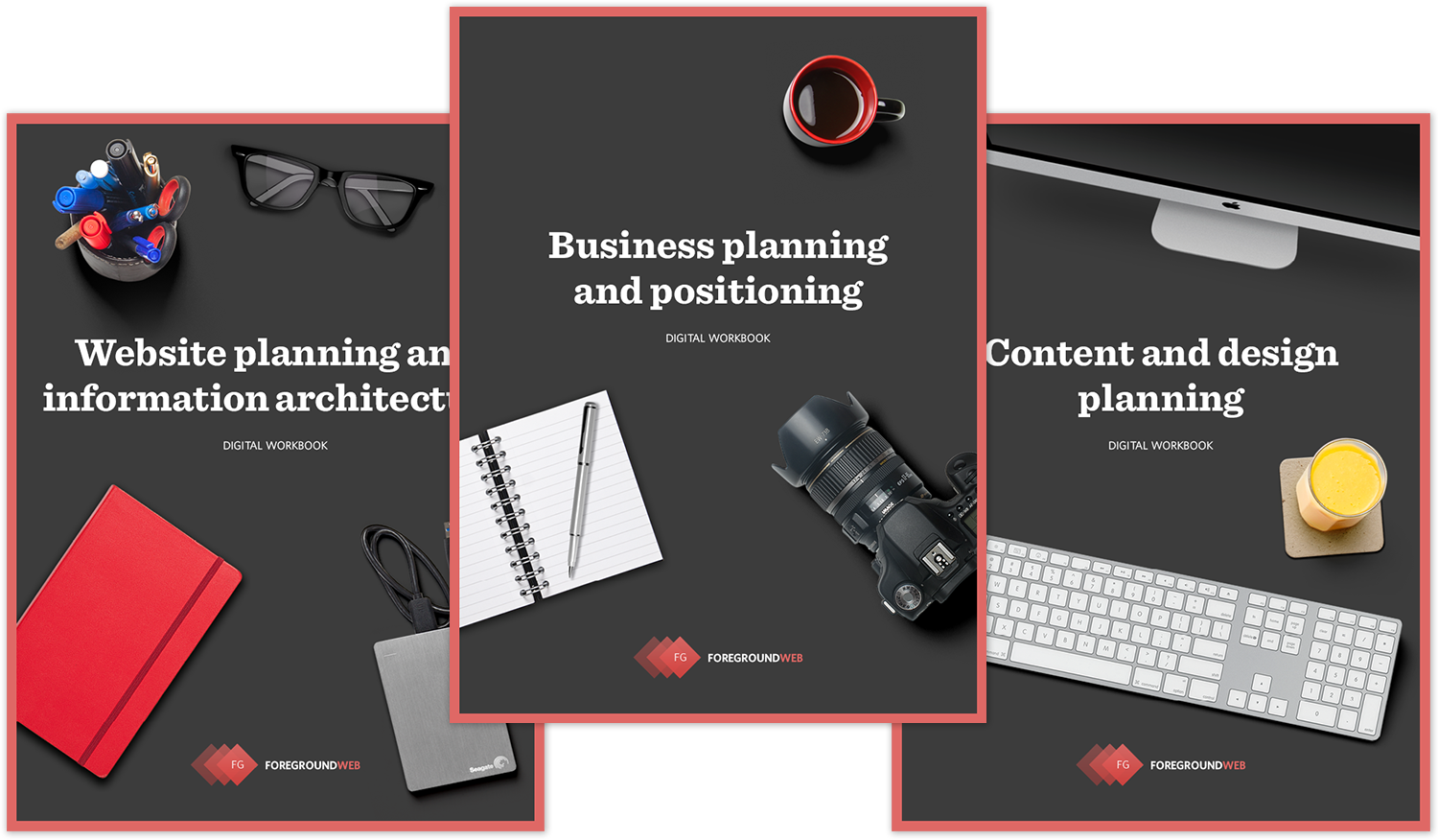 Photography business & website planning guides for photographers