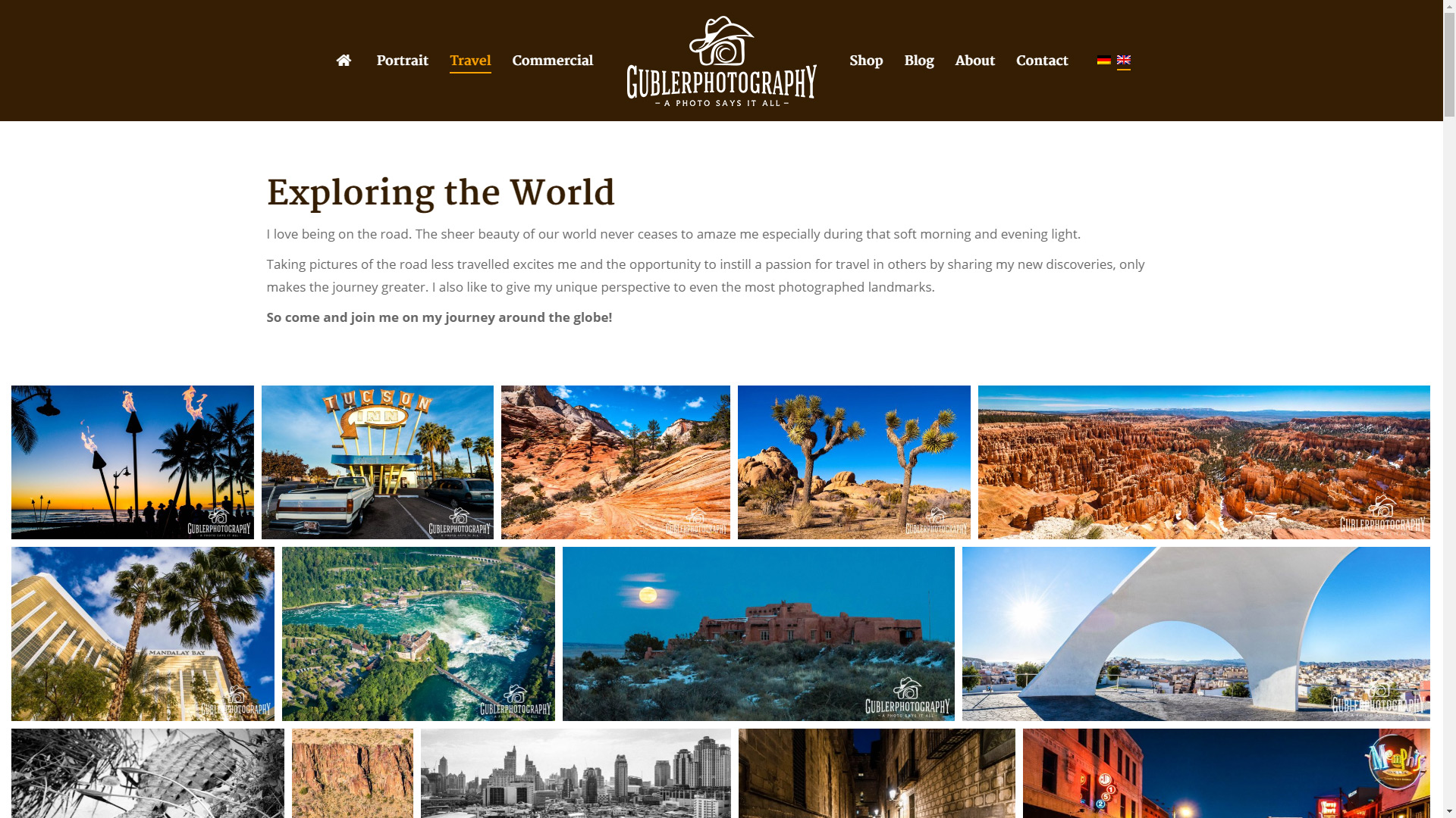 Gallery or portfolio page descriptions   ForegroundWeb
